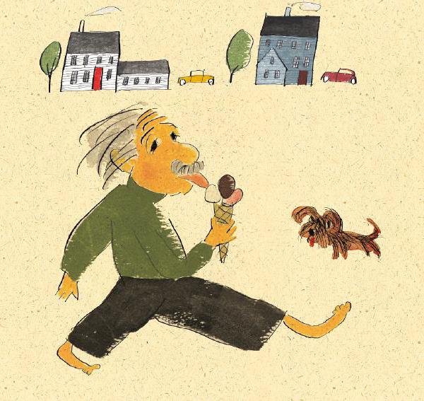 Ilustrace z knihy On a Beam of Light