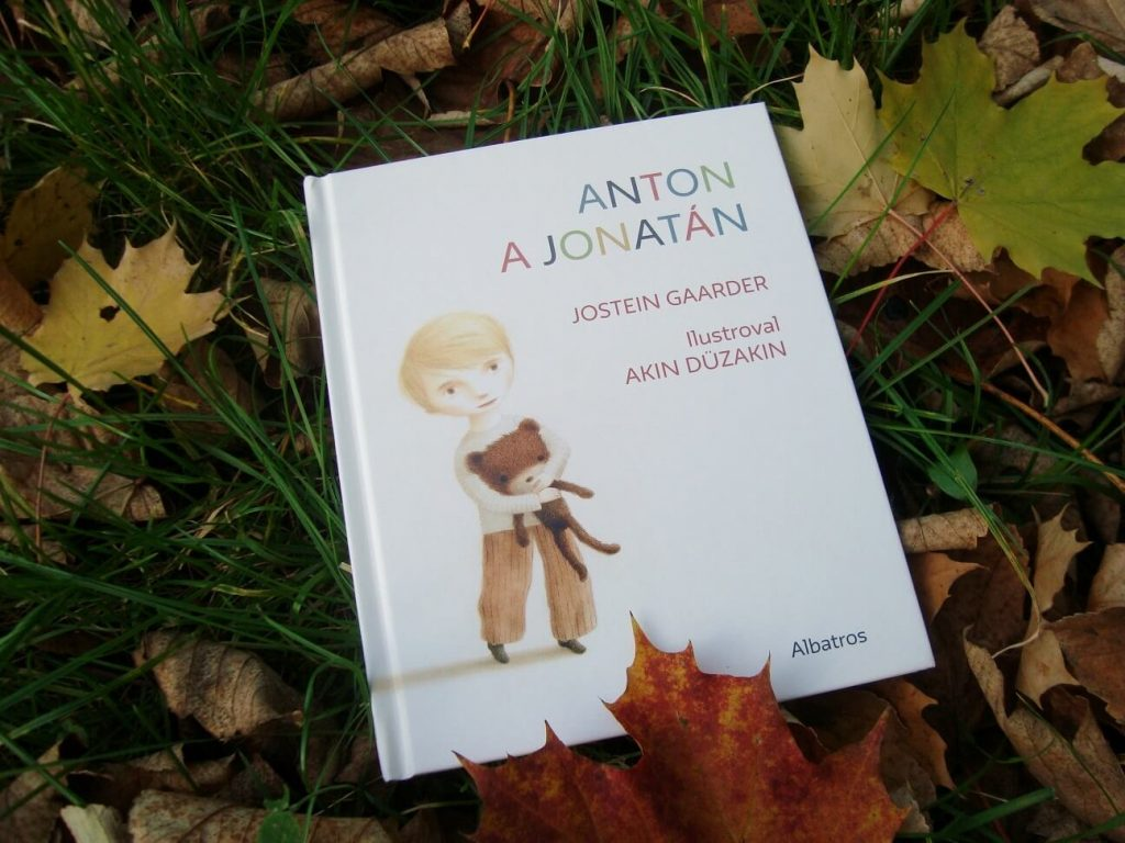 Obálka knihy Anton a Jonatán