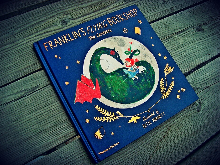 Obálka knihy Franklinova létající knihovna
