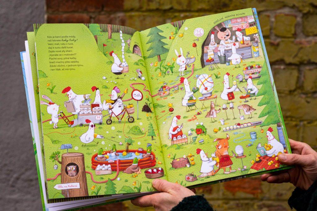 Než řeknete hody hody. Nová velikonoční kniha pro děti