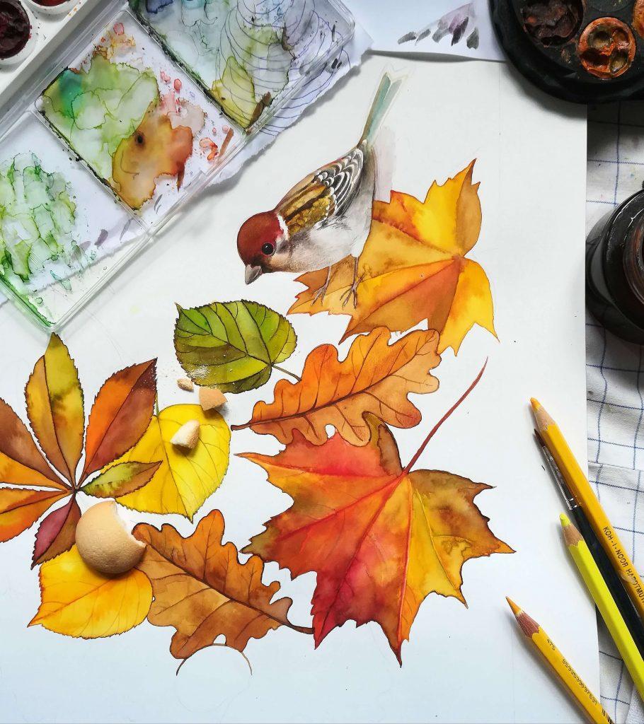 Oříškový podzim